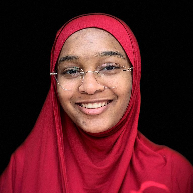 Zayn Karim fulfilling dream of becoming a math teacher