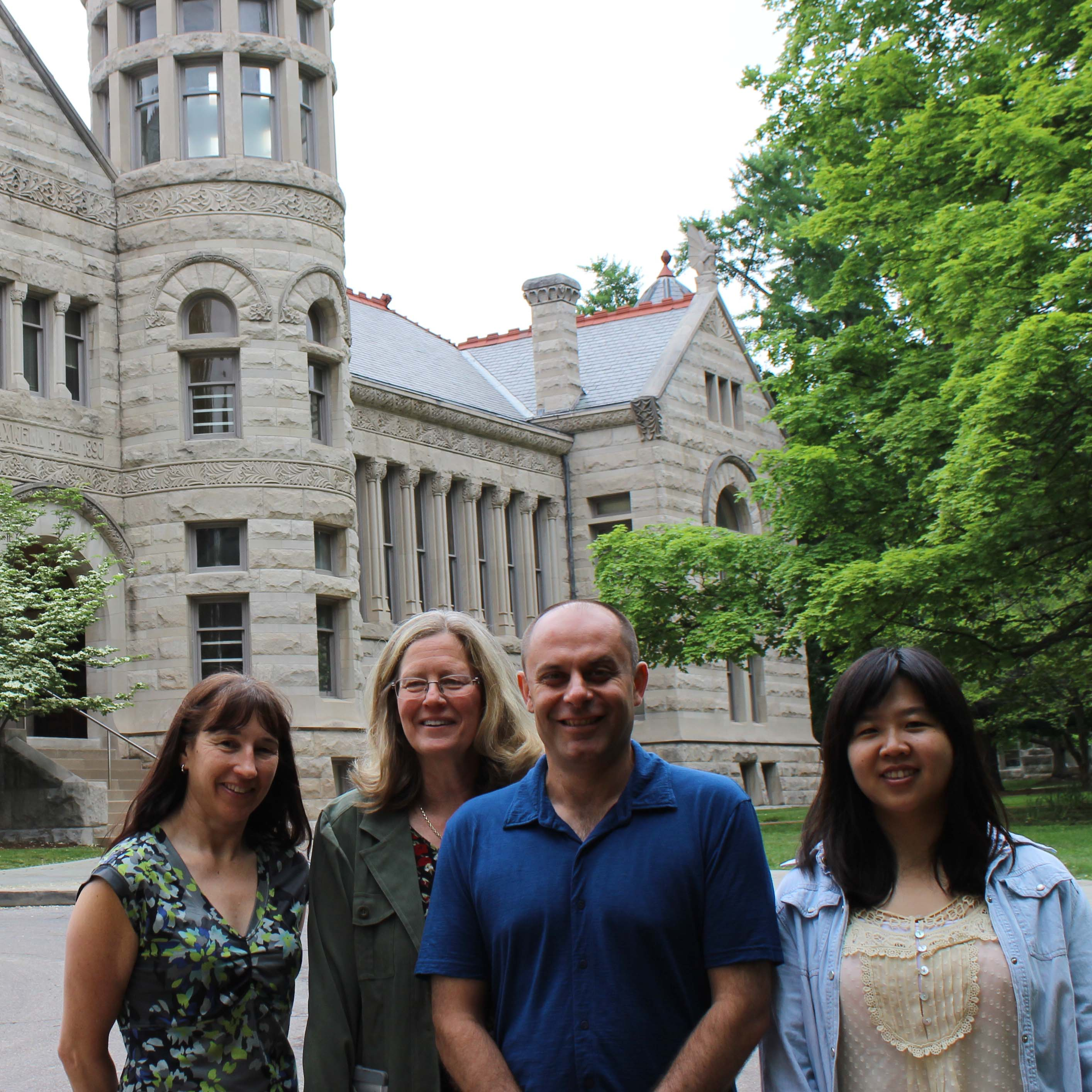 Bloomington Assessment and Research faculty and staff honored for paper