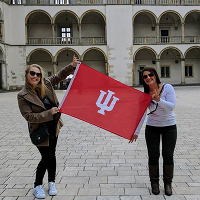 IU Bloomington ranks seventh and IUPUI sets campus record for number of students studying abroad
