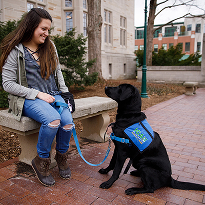 IU senior Julie Mathias joins passion for animals with campus club