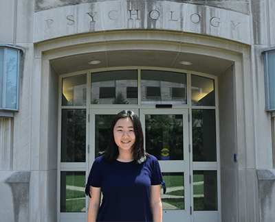 High school junior Anna Kim receives head-start research experience with Project STEM