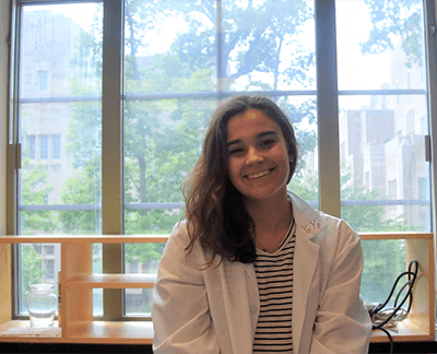Out of the classroom and into the lab, Frannie Kincaid explores epigenetics