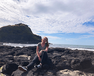 IU senior Katie Rodwell furthers career path through internship in Ireland