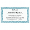 Bloomington Assessment and Research Wins Best Practitioner Paper Award